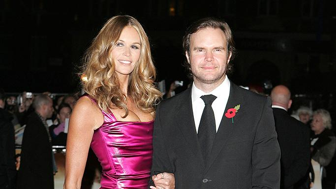 Quantum of Solace UK premiere 2008 Elle McPherson