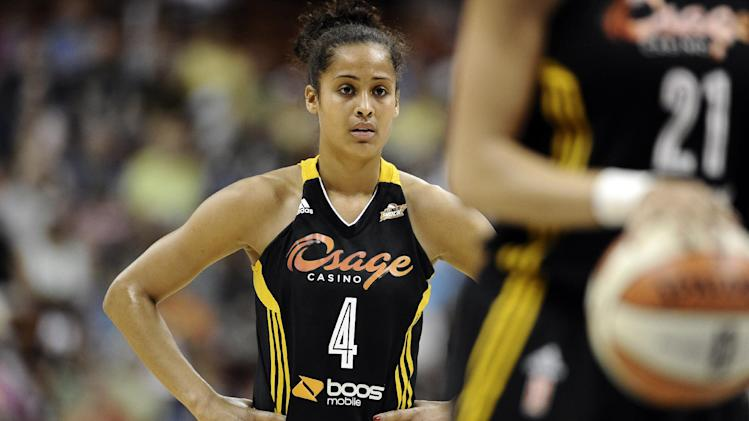 WNBA's Skylar Diggins has had a busy offseason