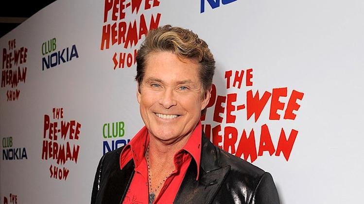 Hasselhoff David PW Herman Shw