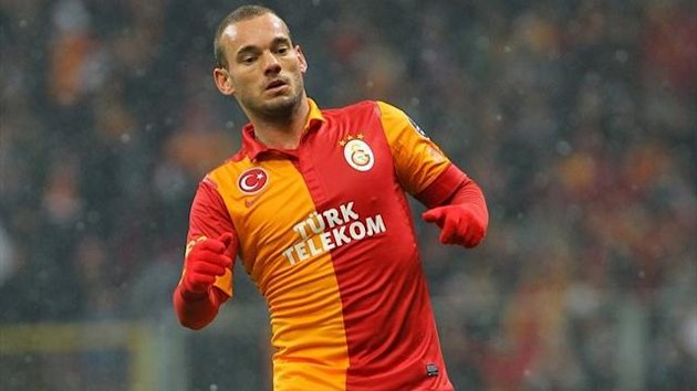 Saison 2012/2013: Wesley Sneijder