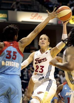 Douglas, Larkins help Fever advance to East finals