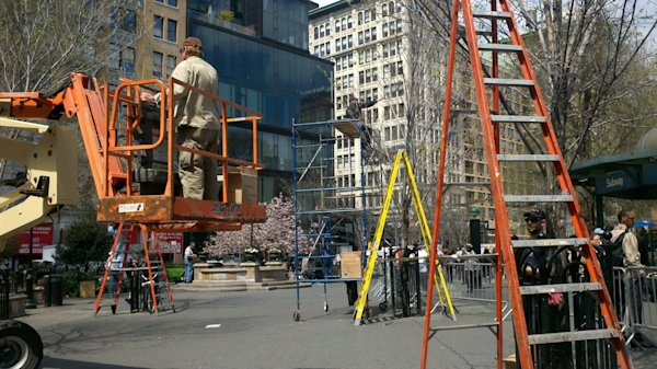 amazing spider man 2 filming