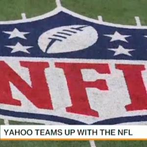 NFL Partners With Yahoo to Stream Live Football