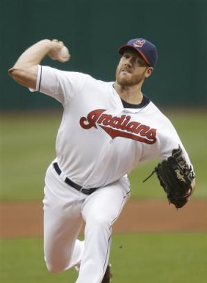 Indians' McAllister and 2 relievers blank A's 1-0