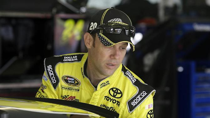 Kenseth not worried yet about winless Cup season