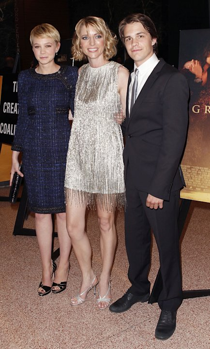 The Greatest LA premiere 2010 Carey Mulligan Shana Feste Johnny Simmons