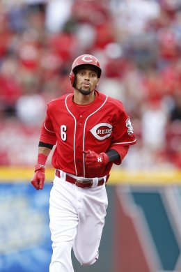With MLB's new technology, we'll finally know how fast Billy Hamilton really is. (Getty Images)