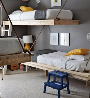 Hanging Beds for Three