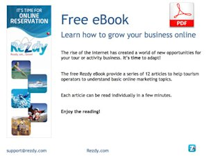 8 Ways to Get Your Tour or Activity Website to Rank on Google image rezdy free ebook1