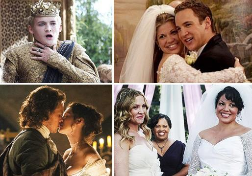 TV's Best & Worst Weddings: Parks Perfection, Buffy Nightmare, Twisty Thrones, a Castle Miss and More