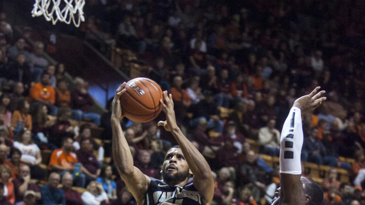 NCAA Basketball: Wake Forest at Virginia Tech