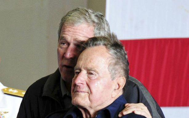 George H. W. Bush Has Secretly Been in the Hospital for a Week