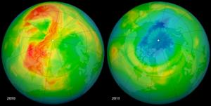 Cause of Odd Arctic Ozone 'Hole' Found