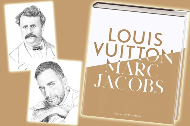 "Die Doppelbiografie ""Louis Vuitton & Marc Jacobs"" (Bilder: Collection Rolf Heyne)"