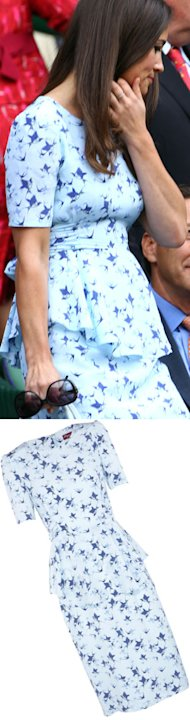 SHOP! Pippa Middleton's Wimbledon Final Project D peplum dress