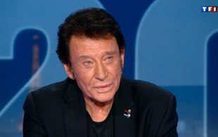 Johnny Hallyday : teinture noire : un cas rat