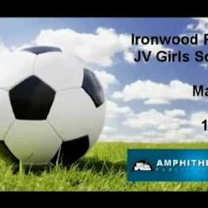 Ironwood Ridge Girls JV Soccer @ Marana 1/7/15 (W)6-0