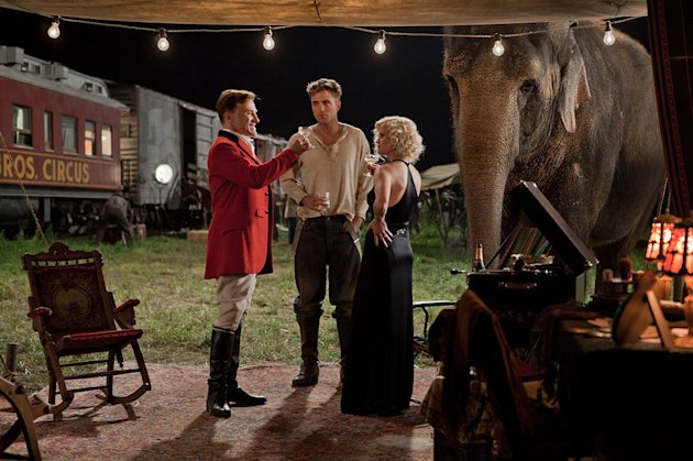 Water for Elephants 20th Century Fox 2011 Christoph Waltz Robert Pattinson Reese Witherspoon