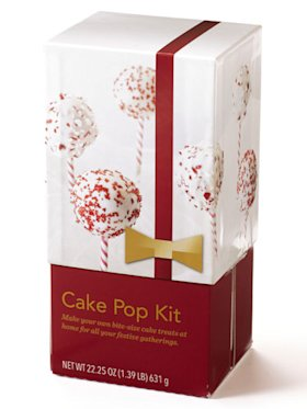 Cake pop kit from Starbucks
