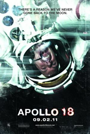 """Apollo 18"" movie poster."