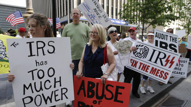 AP: Ohio tea party to use IRS to fight Medicaid