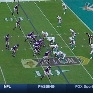 Minnesota Vikings quarterback Teddy Bridgewater to Wright 8-yard TD, 2-point conversion