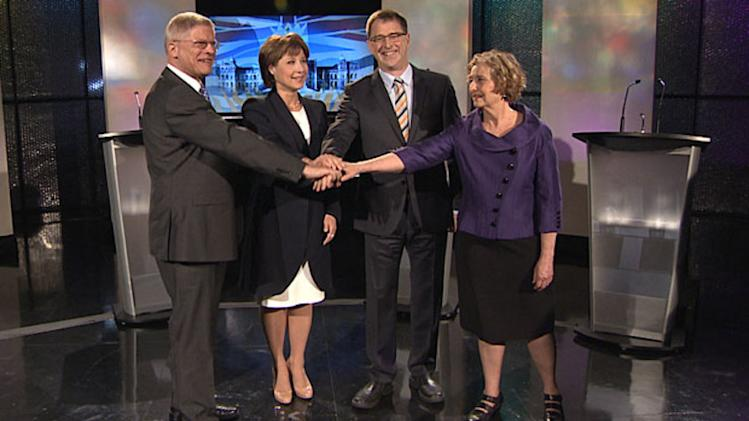 B.C. party leaders' debate format