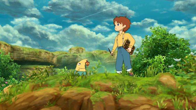 "This video game image released by Namco Bandai shows a scene from ""Ni no Kuni: Wrath of the White Witch."" (AP Photo/Namco Bandai)"