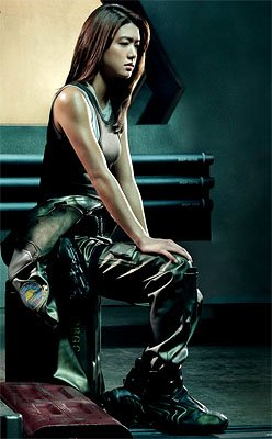 Grace Park as Lt. Sharon &quot;Boomer&quot; Valerii