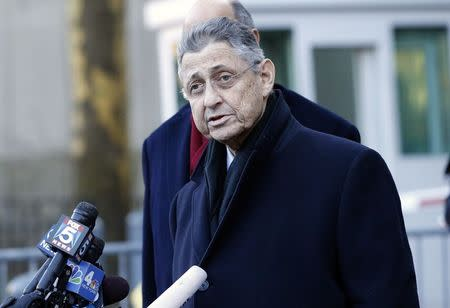 N.Y. State Assembly Speaker Silver to temporarily relinquish duties: NYT
