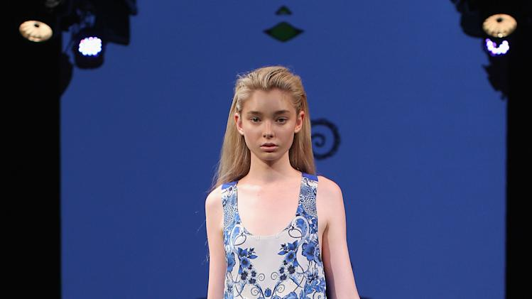 MBFWA S/S 2012/13 - Sara Phillips Catwalk