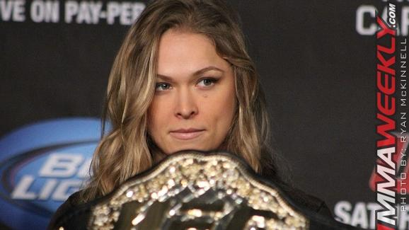 Dana White On Ronda Rousey: 'She's The Greatest Athlete I've Ever Worked With'