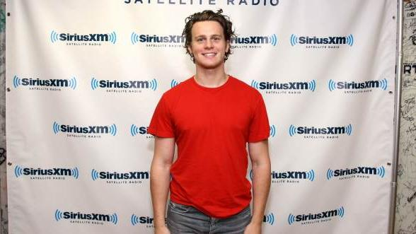 Jonathan Groff visits the SiriusXM Studio on May 19, 2011 in New York City -- Getty Images