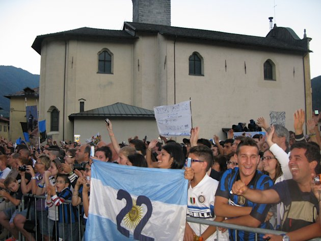Inter in Trentino (Pinzolo 2012)