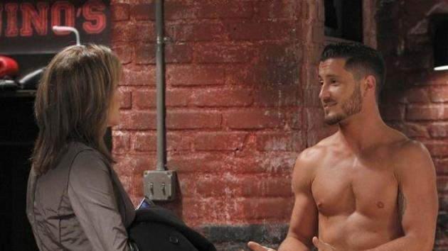 Valentin Chmerkovskiy and Nancy Lee Grahn on 'General Hospital,' 2012  -- ABC