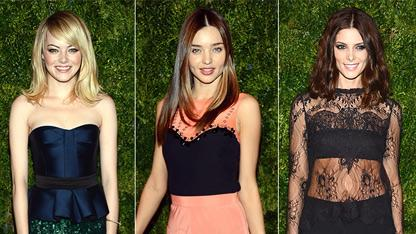 Stars Wow at CFDA Vogue Fashion Fund Awards