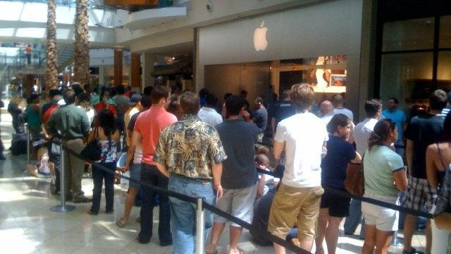 iPhone 5 Lines 83% Longer Than Lines For iPhone 4S [REPORT]