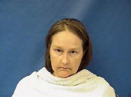 Kaufman County Sheriff's Office booking photo of Kim Williams