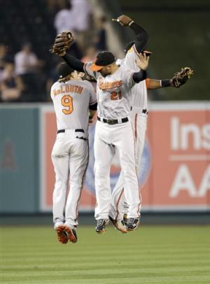 Tillman keeps Blanton winless, O's top Angels