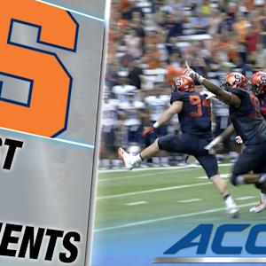 Syracuse Stuffs Villanova on 2-Point Conversion for the Win | ACC Must See Moment