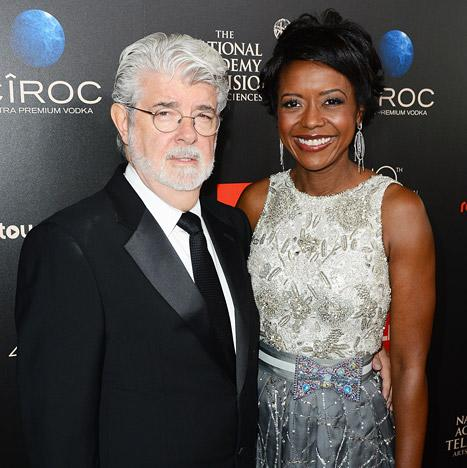 George Lucas, Wife Mellody Hobson Welcome Baby Girl Via Surrogate
