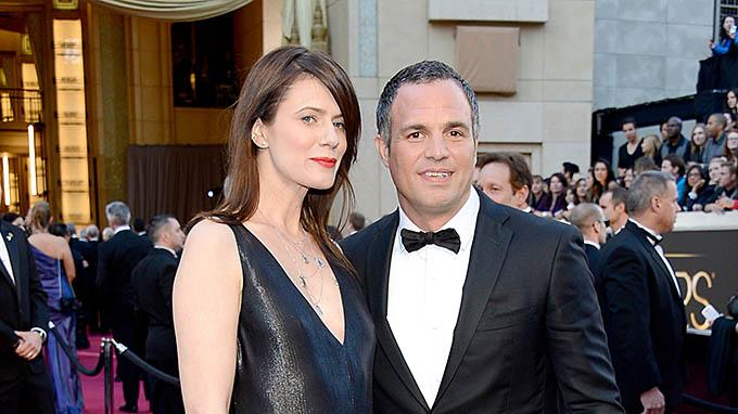 Mark Ruffalo and Wife Sunrise Coigne