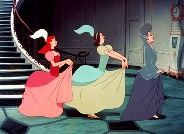 Anatasia, Drizella and Lady Tremaine in Walt Disney Pictures' Cinderella