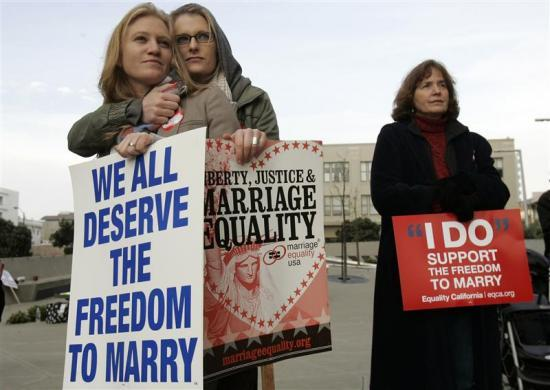 Gay marriage in America