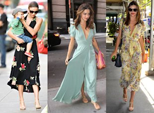 Miranda Kerr's Maxi Mania In New York City!