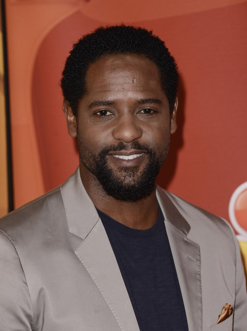 Actor Blair Underwood arrives at the NBC 2013 summer press tour at the Beverly Hilton Hotel on Saturday, July 27, 2013 in Beverly Hills, Calif. (Photo by Dan Steinberg/Invision/AP)