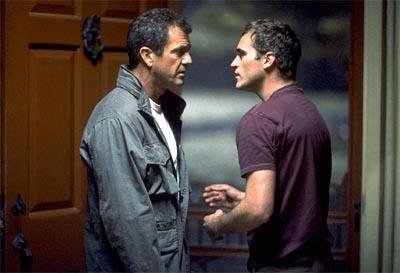 Mel Gibson and Joaquin Phoenix in Touchstone's Signs