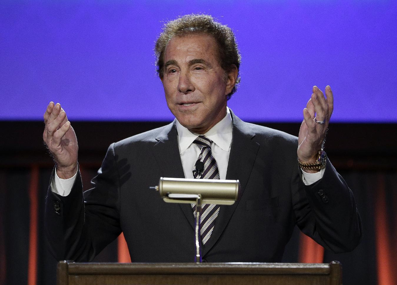 Wynn's salary, plane privileges shrink; stock bonus boosted