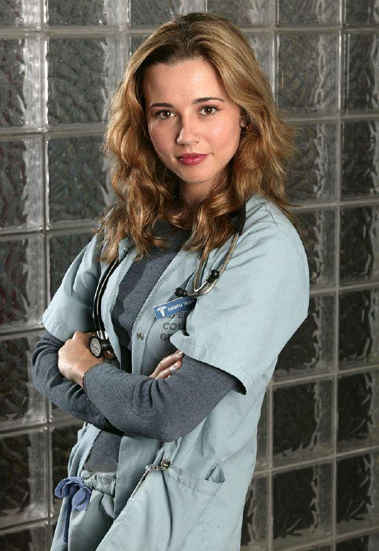 Linda Cardellini as Samantha Taggart in ER on NBC.
