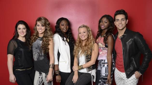 The 'American Idol' Season 12 Top 6 -- FOX